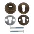 Броненакладка - протектор Mul-t-Lock SL3-M8 AB бронза