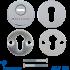 Броненакладка - протектор Mul-t-Lock SL3-M8 CP хром