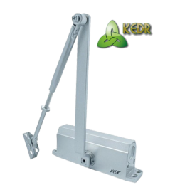 Доводчик KEDR A 061 (45-75 кг) S серый