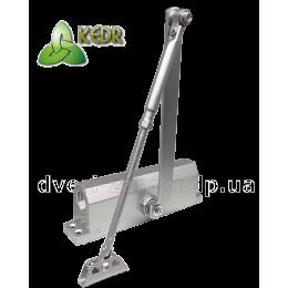 Доводчик KEDR A 082 S (80-120 кг) серый