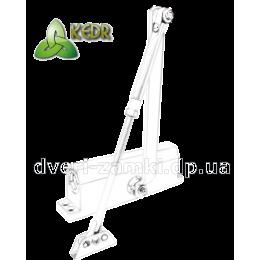 Доводчик KEDR A 082 W (80-120 кг) белый