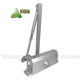 Доводчик KEDR A 062 (60-85 кг) SL серебро