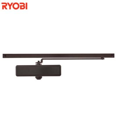 Доводчик Ryobi S-8850T коричневый со скользящей тягой белый с фиксацией (от 40 до 60 кг)