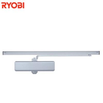 Доводчик Ryobi S-8850T серебристый со скользящей тягой белый с фиксацией (от 40 до 60 кг)