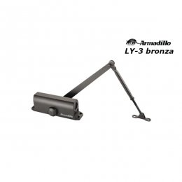 Доводчик Armadillo LY-3 до 65 кг бронза