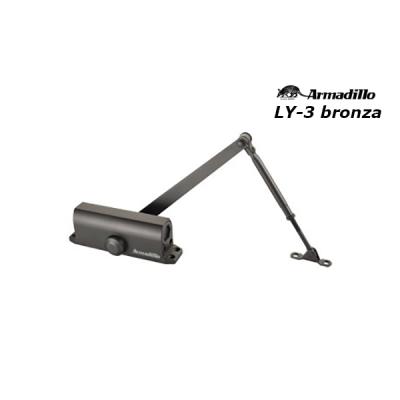 Доводчик дверей Armadillo LY-3 (от 40 до 65 кг) цвет бронза