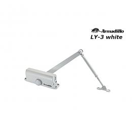 Доводчик Armadillo LY-3 до 65 кг белый