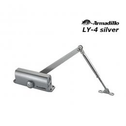 Доводчик Armadillo LY-4 до 85 кг серебро