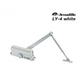 Доводчик Armadillo LY-4 до 85 кг белый