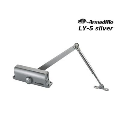Доводчик Armadillo LY-5  (от 80 до 120 кг)  серебро