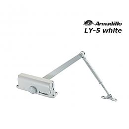 Доводчик Armadillo LY-5 до 120 кг белый