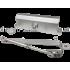 Доводчик для тяжелых дверей Кедр A 082 S (80-120 кг) серый