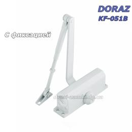 Доводчик Doraz KF-051 до 50 кг с фиксацией