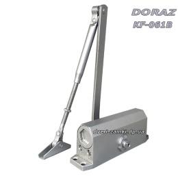 Доводчик Doraz KF-061B до 65 кг серый