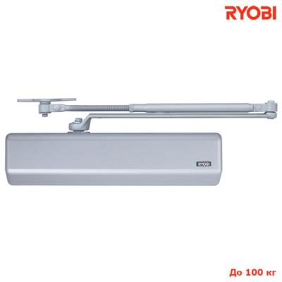 Доводчик дверей Ryobi D-3550 SL серый до 100 кг