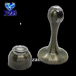 Дверной упор с магнитом FZB 01-04 AB 75 мм