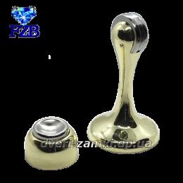 Дверной упор с магнитом FZB 01-04 PB 75 мм