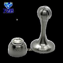 Дверной упор с магнитом FZB 01-04 SN 75 mm