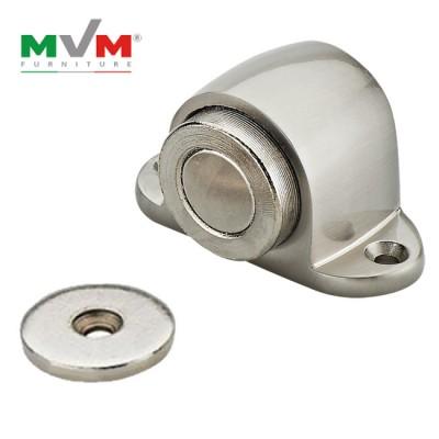 Дверной упор с магнитом MVM M 30 SN матовый никель