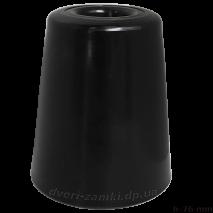Упор D70H76 Maxi резиновый черный