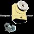 Дверной упор с магнитом Palermo C 759 SB матовое золото
