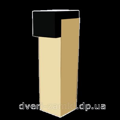 Дверной упор YU-TL C 5309 PB (золото) H-8 см