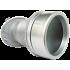 Глазок панорамный Handmet D45 S05 серебро (Польша)