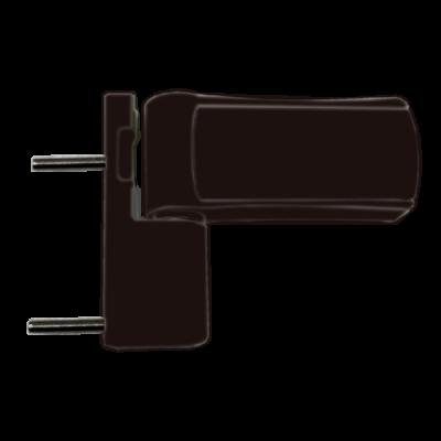 Петли для пластиковых дверей Solid SLD.120.14.18 до 120 кг