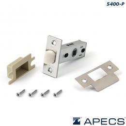 Защелка Apecs 5400-P пластик CR (хром)