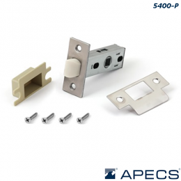 Защелка Apecs 5400-P пластик NIS (матовый никель)