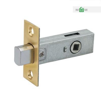 Задвижка MVM WC-100 SB матовая латунь для межкомнатной двери