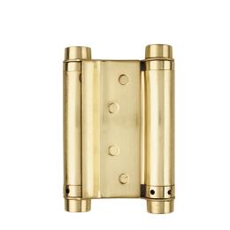 Петля пружинная двусторонняя Doraz 201-3 золото
