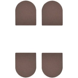 Комплект колпачков AGB Eclipse бронза коричневая