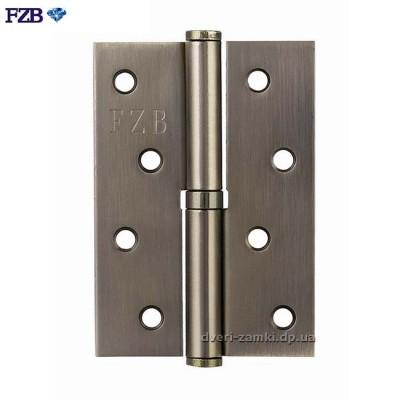 Дверные петли FZB 100x70x2.5 AB бронза