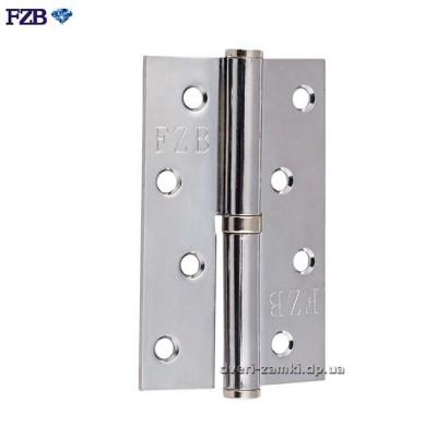 Дверные петли FZB 100x70x2.5 CP хром