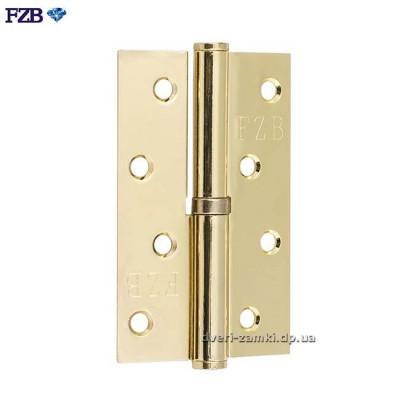 Дверные петли FZB 100x70x2.5 PB золото