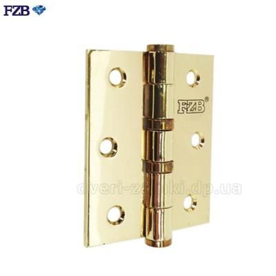 Универсальные петли FZB 75x62x2,5 PB золото