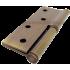 Петли дверные Apecs 100x75-B-Steel AB бронза