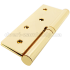 Петли дверные Apecs (Апекс) 100x75-B-Steel G золото