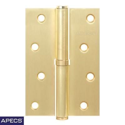 Петли дверные Apecs (Апекс) 100*75-B-Steel G золото