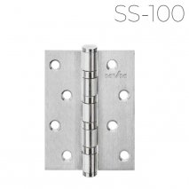 Петли дверные универсальные MVM SS-100 SS из нержавеющей стали