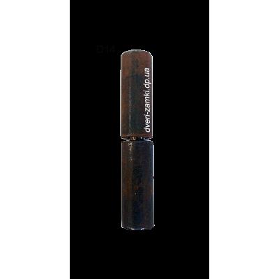 Петли точеные приварные D14x80 мм
