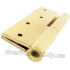 Дверные регулируемые петли Siba 120 мм 1BB 120x80x4.0 PB золото