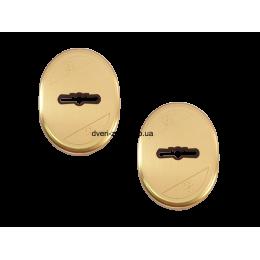 Накладка сувальдная Mottura матовое золото