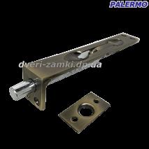 Шпингалет врезной Palermo C-711-6 AB бронза