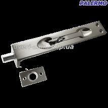 Шпингалет врезной Palermo C-711-6 SN матовый никель