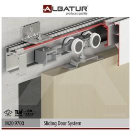 Раздвижная система для межкомнатных дверей Albatur M20 9700