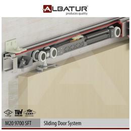 Раздвижная система Albatur M20 9700 SFT с доводчиком