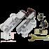 Раздвижная система EKF 120101 до 80 кг для двустворчатых дверей