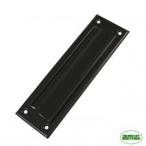 Заслонка для писем Amig mod.1 254 x 73 mm черная